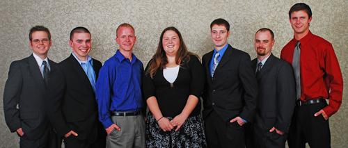 2008 recipients of Missouri S&T's Grainger Power Engineering Award