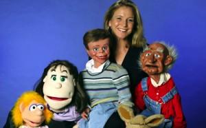 Ventriloquist Lynn Trefzger.