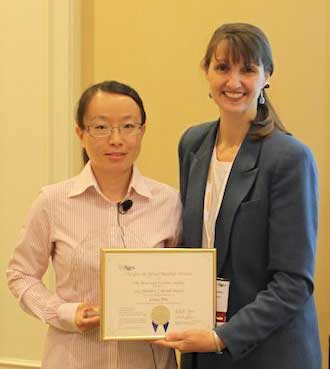 S&T grad student honored for glass research