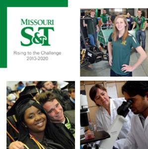 Missouri S&T's strategic plan focuses on providing a high return on investment