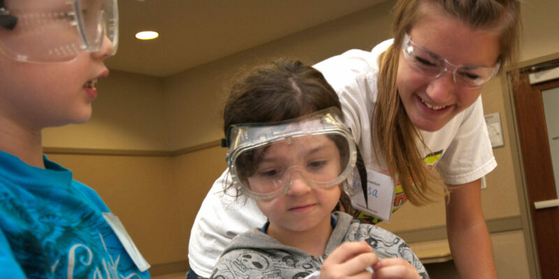 Summer camps at Missouri S&T combine explosives, space and leadership