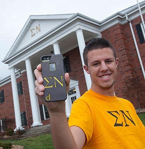 Chesterfield students' startup designed to build fraternity, sorority pride