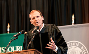 Water.org co-founder tells S&T grads to follow their passion