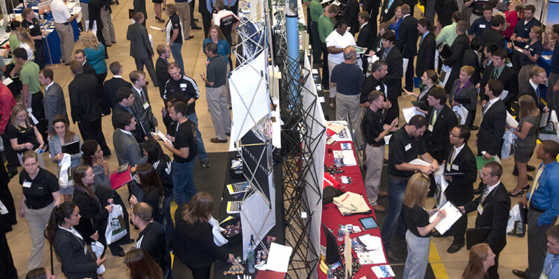 Employers ready to recruit at career fair