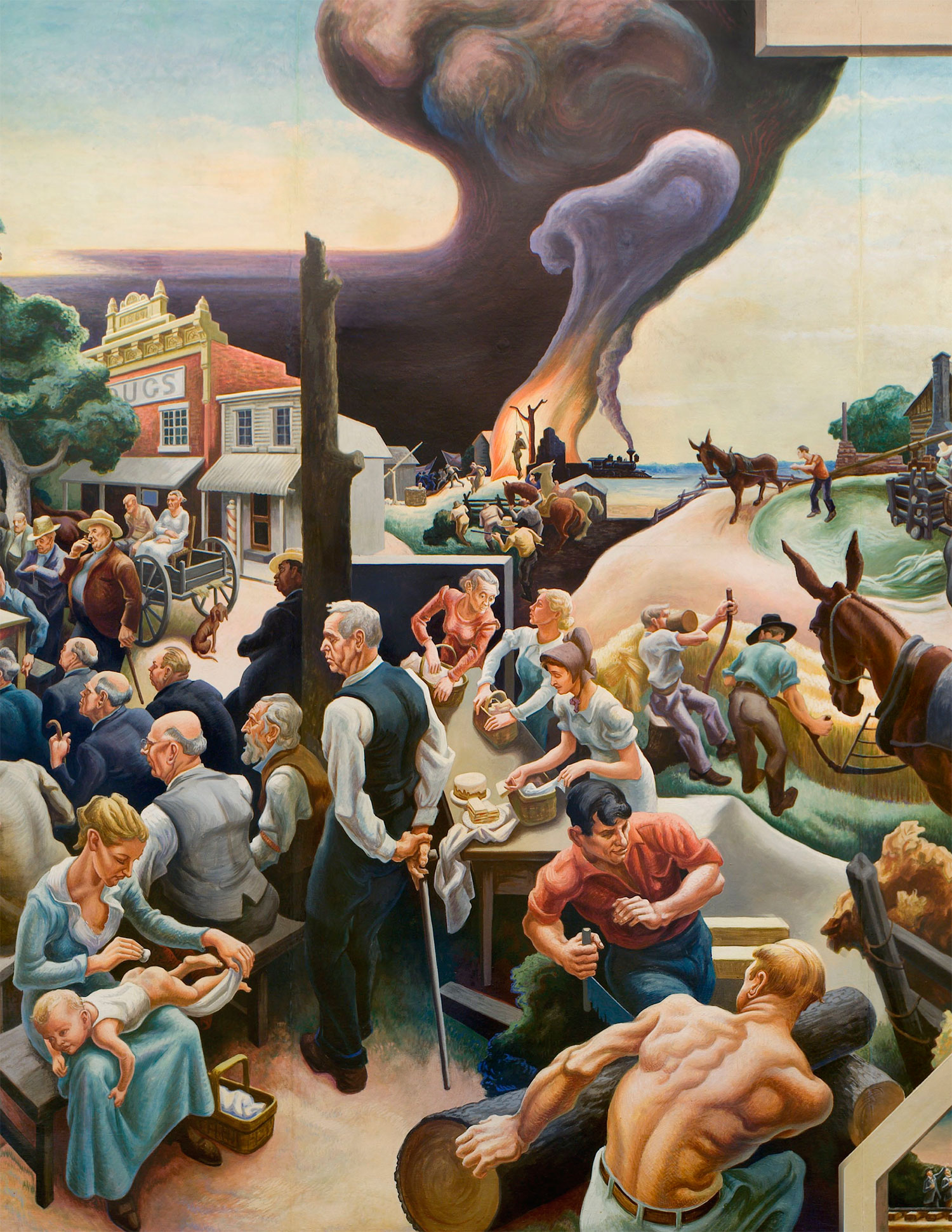 History of Benton