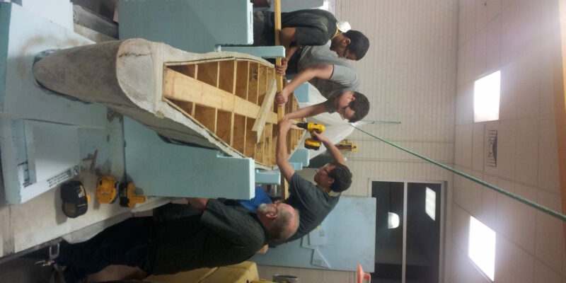 Missouri S&T Concrete Canoe Design Team ready to paddle