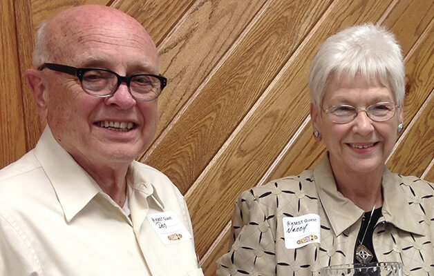 Two recognized as KMST Volunteers of the Year