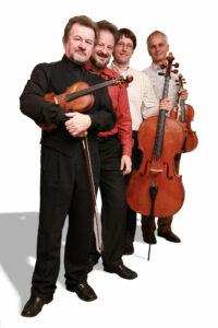 Philharmonia Quartett Berlin. Photo by Daniel Hanack.