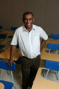 Dr. Samaranayake. Photo by B.A. Rupert.