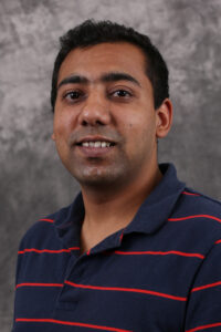 Systems engineering student Siddhartha Agarwal. photo by Sam O'Keefe, Missouri S&T.