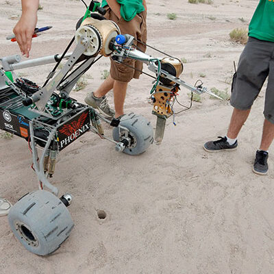 S&T Mars Rover Team is second in the world