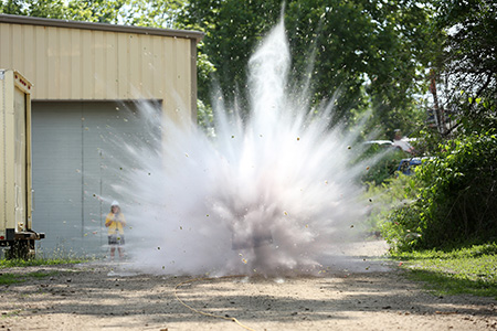 Missouri S&T offers the nation's first Ph.D. in explosives engineering
