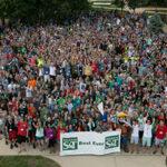 Missouri S&T freshmen during Opening Week 2014.