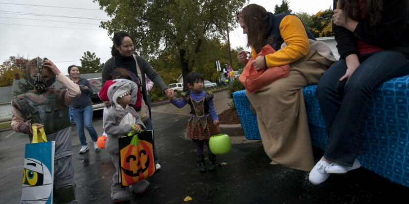 Trick-or-treat at Missouri S&T