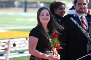 2014 Homecoming Queen. Photo by Sam O'Keefe.