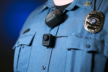 Missouri S&T police officers implement body cameras