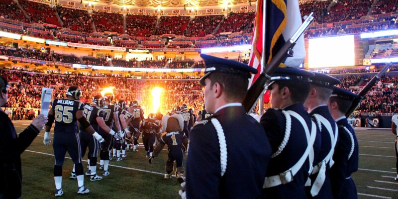 Missouri S&T's Air Force ROTC to present U.S. flag for St. Louis Rams