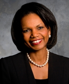 Dr. Condoleezza Rice, former U.S. Secretary of State