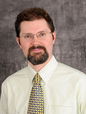 Dr. Jeff Schramm, associate professor of history and political science
