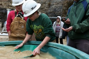 Gold panning at 2014's competition.
