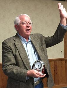 Mike Doyen, KMST Volunteer of the Year