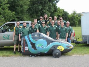 A 2015 group photo from the Missouri S&T HPVC team Facebook. See https://www.facebook.com/pages/Missouri-ST-Human-Powered-Vehicle-Team/.