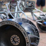 """Horizon,"" Missouri S&T's entry in the 2015 University Rover Challenge."