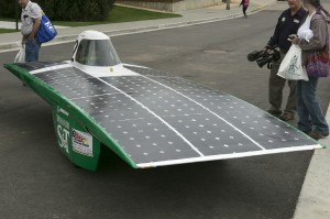 The Solar Car on April 16, 2015.      Sam O'Keefe/Missouri S&T