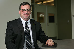 Dr. Ian Ferguson, vice provost and dean of the College of Engineering and Computing