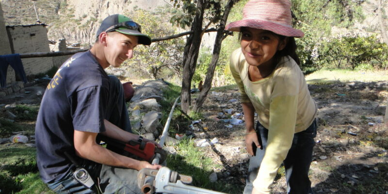 Missouri S&T's Engineers Without Borders works to provide drinking water in Bolivia