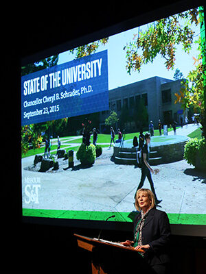 Chancellor introduces a 'culture of gratitude' at Missouri S&T