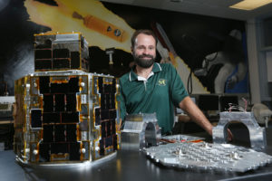Professor Hank Pernicka and his team at Missouri S&T have developed a microsatellit imager in an Air Force contest and are working to produce the final version for delivery in 2017.