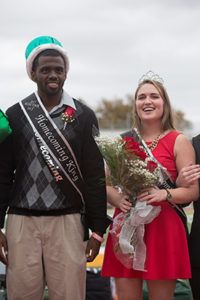 Charlie Brown and Haley Witcher, Missouri S&T's 2015 Homecoming King and Queen.