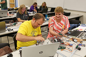 As Missouri's Project Lead The Way affiliate, Missouri S&T trains pre-college teachers in biomedical science, computer science and engineering.