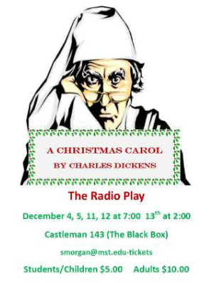 S&T students to perform 'A Christmas Carol: A Live Radio Play'