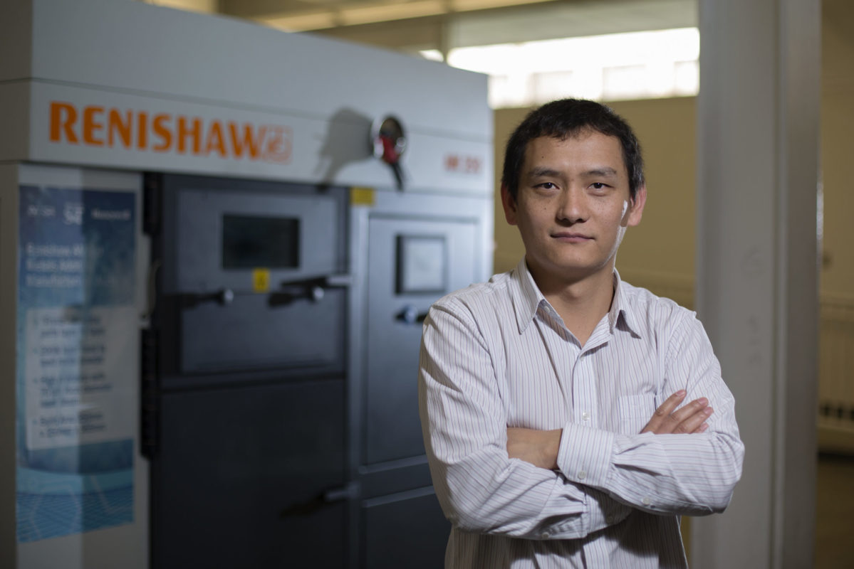 Dr. Lianyi Chen, assistant professor of mechanical and aerospace engineering. Sam O'Keefe/Missouri S&T