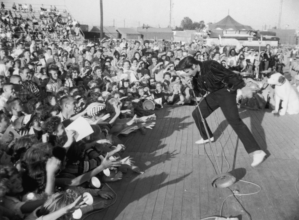 Elvis Presley may have wowed teens during his concerts, but his first visit to Las Vegas nearly 60 years ago was disastrous and left the young singer all shook up, writes Missouri S&T's Larry Gragg (Photo by Hulton Archive/Getty Images)