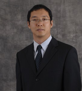 Professor Xiaodong Yang works on optical metamaterials that have wide applications in daily life, such as cellphone displays and solar cells.