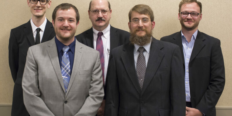 Graduate students recognized for outstanding research