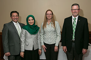Outstanding Teaching of Distance Education awards recipients, 2016