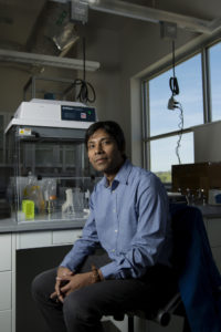 Assistant professor Dipak Barua is using computational modeling to find ways to treat and possibly cure diseases such as cancer or Alzheimer's disease.  Sam O'Keefe/Missouri S&T