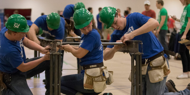S&T's Steel Bridge team earns second, qualifies for nationals