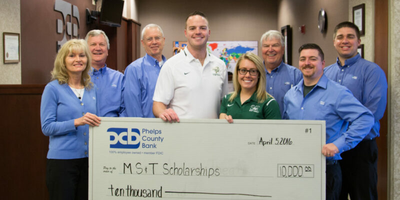 Two S&T athletes receive Phelps County Bank Scholarships