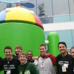 Missouri S&T's University Innovation Fellows visited Google earlier this year. From left: John Schoeberle, Connor Wolk, Tim Buesking, Spencer Vogel, Mark Raymond, Tyler Jenkins, Eric Fallon, Cori Hatley, Katherine Ramsay