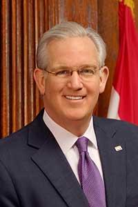 Missouri Governor Jeremiah W. (Jay) Nixon
