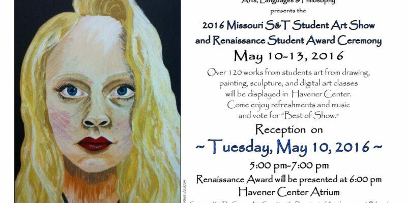 S&T student art show and award reception to be held May 10