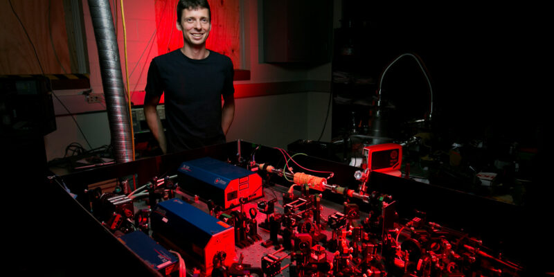 Physicist works to explain atom motion