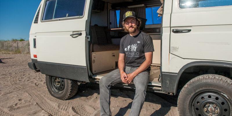 How kitesurfing sparked a startup idea