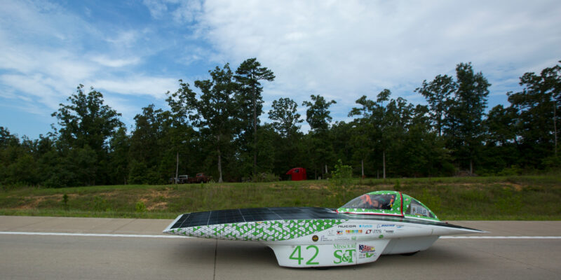 S&T Solar Car team earns fourth in 1,975-mile race