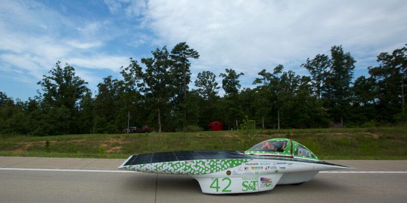 S&T Solar Car team earns fourth in 1,975-mile race